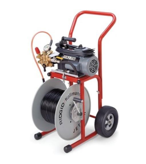 Máy tẩy rửa đường ống dùng áp lực nước KJ-1750