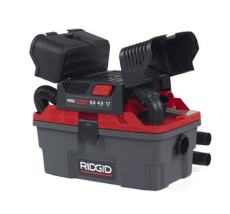 máy hút bụi di động Ridgid 4500RV Propack 2 với thiết kê gọn nhẹ