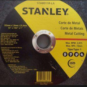 Đá cắt Stanley STA8011R 355x23x25.4mm