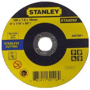 Đá cắt Stanley STA8060 100x1x16mm