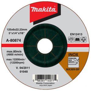 Đá mài inox Makita A-80874 125x6x16mm