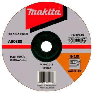 Đá mài inox Makita A-80880 180x6x16mm