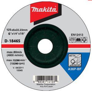 Đá mài kim loại Makita D-18465 125x6x22mm