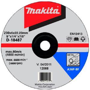 Đá mài kim loại Makita D-18487 230x6x22mm