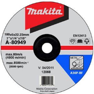 Đá mài Makita A-80949 180x6x22mm