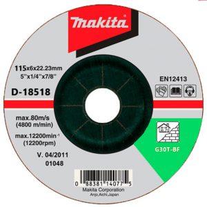 Đá mài sắt Makita D-18502 115x6x22mm