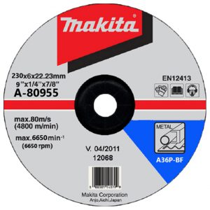 Đá mài thép Makita A-80955 230x6x22mm