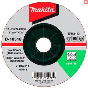 Đá mài thép Makita D-18518 115x6x22mm