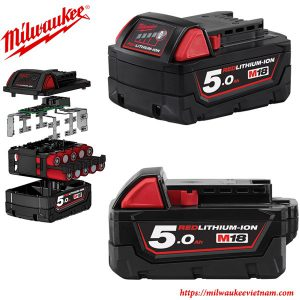 Pin Milwaukee 18V 5.0Ah