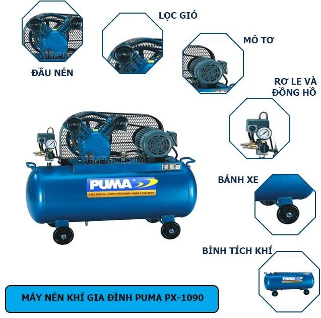cấu tạo máy nén khí Puma (2)