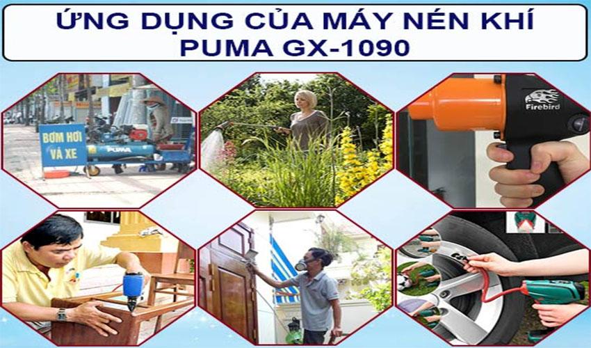 ứng dụng máy nén khí puma GX-1090