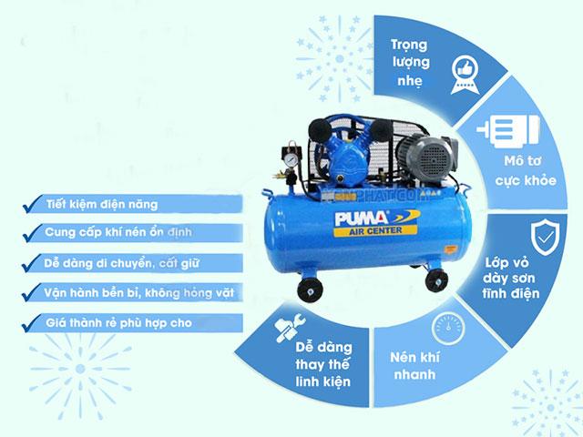 ưu điểm máy nén khí puma
