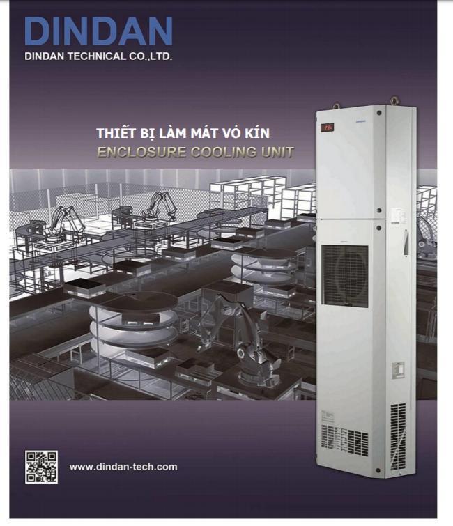 máy làm mát tủ điện- điều hòa