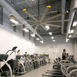 quạt trần công nghiệp tập gym