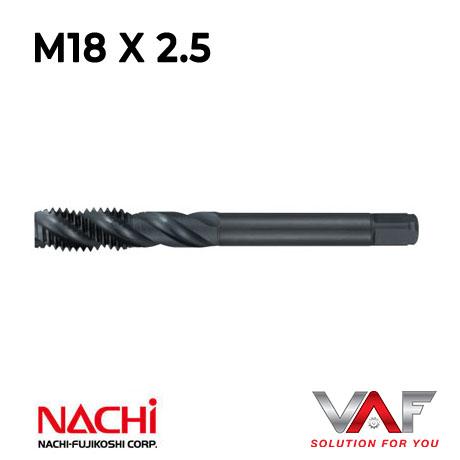 Mũi taro xoắn Nachi-M18X2.5