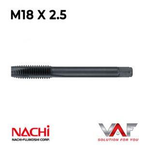 Mũi Taro thẳng NACHI M18x2.5 – STPO18M2.5R L6868