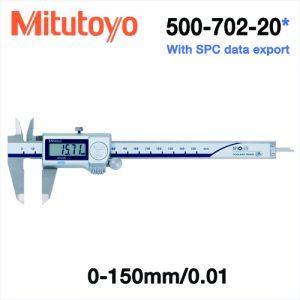 Thước cặp điện tử chống nước Mitutoyo 500-702-20, 0-150mm/0.01mm