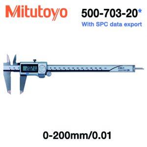 Thước cặp điện tử chống nước Mitutoyo 500-703-20, 0-200mm/0.01mm