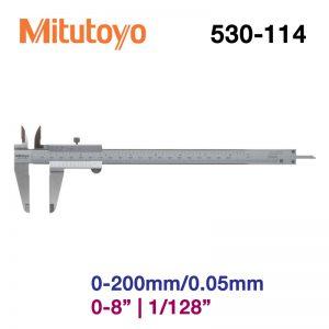 Thước cặp cơ khí Mitutoyo 530-114 0-200mm/0.05mm