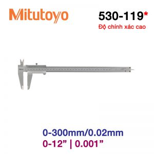 Thước cặp cơ khí Mitutoyo 530-119 0-300mm/0.02mm