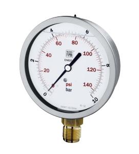 Đồng hồ đo áp suất Nuova Fima  MS4