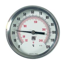 Đồng hồ đo nhiệt độ Nuova Fima TB7