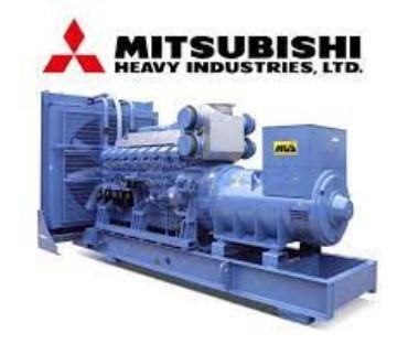 Máy phát điện Mitsubishi 1800 KVA MGS1500B