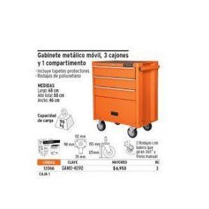 Tủ đồ nghề 4 ngăn TRUPER Model 12066