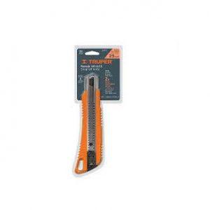 Dao rọc giấy 18mm màu cam TRUPER Model 16974