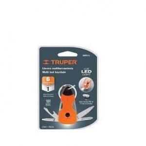 Dụng cụ đa năng 6 chi tiết có đèn led TRUPER Model 13336