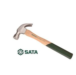 Búa cán gỗ đầu tròn 16oz/454g Sata Model 92312