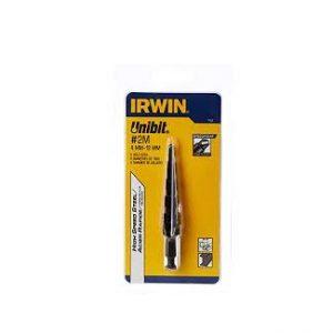 1M 9 Hole sizes (4mm–12mm),  1mm increments Mũi khoan tầng, hình tháp   IRWIN Model 11101