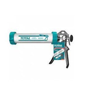 Súng bơm silicol thân nhôm 51x232mm Total Model THT20109