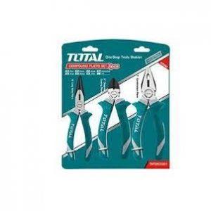 Bộ 3 kềm cắt, kềm răng và kềm mỏ dài Total Model THT1K0301