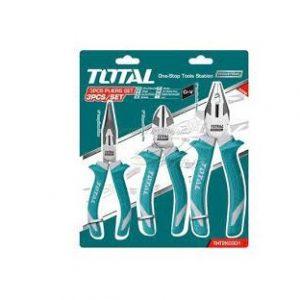 Bộ 3 kềm răng, cắt và nhọn cao cấp Total Model THT2K0301S